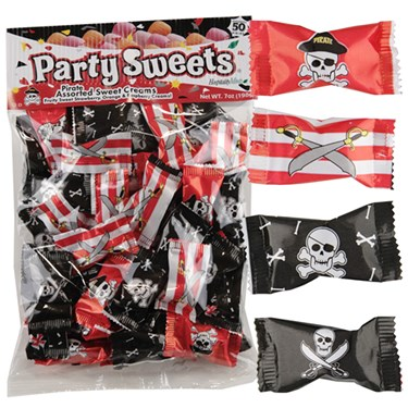 Pirate Asst. Sweet Creams