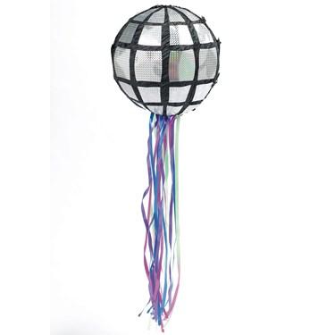 Disco Ball Pull-String Pinata