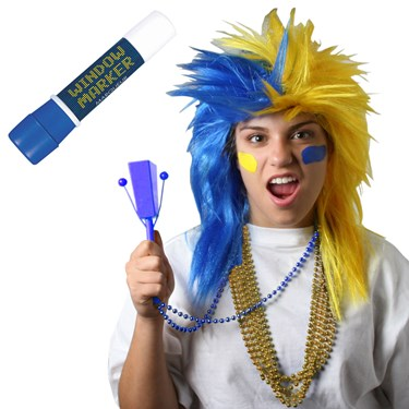Blue and Yellow Superfan Kit