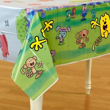 Wow! Wow! Wubbzy! Plastic Tablecover