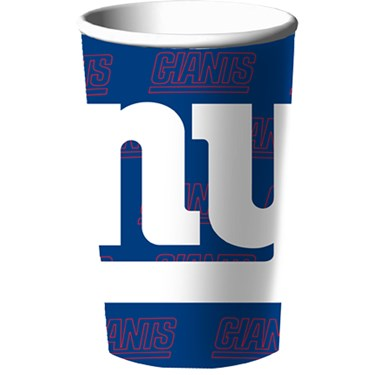 New York Giants 22 oz. Hard Plastic Cup