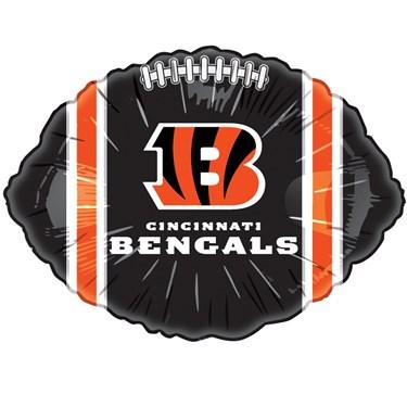 Cincinnati Bengals Foil Balloon