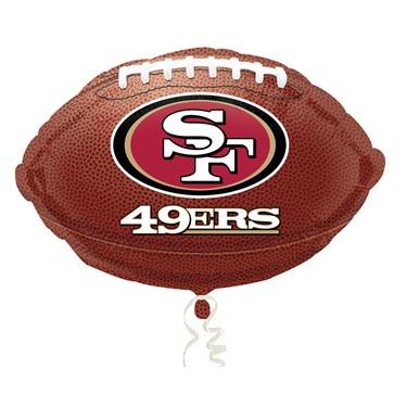 San Francisco 49ers Foil Balloon