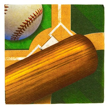 Baseball Lunch Napkins