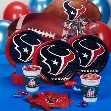 Houston Texans Party Supplies