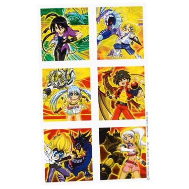 Bakugan Sticker Sheets