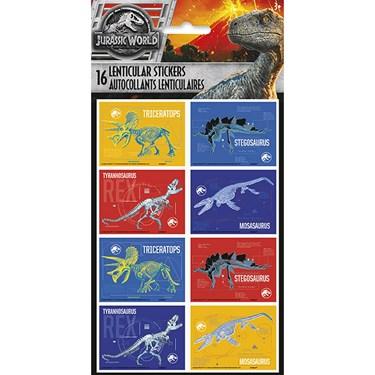 3D Jurassic World 2 Sticker Sheet (2)