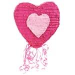 """Heart 20"""" Pull-String Pinata"""