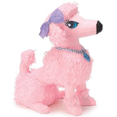 "Pink Poodle 15"" Pinata"