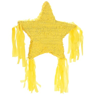 "Yellow Star 19"" Pinata"
