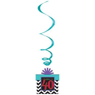 40th Celebration Swirl Decorations (12)