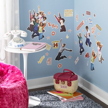 Disney High School Musical Removable Wall Decorations