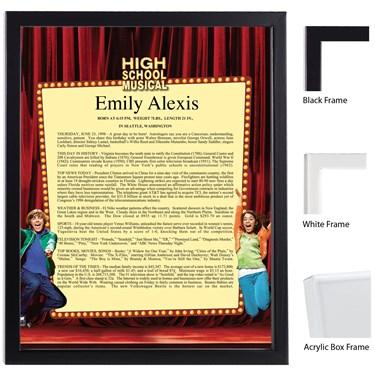 Disney High School Musical Keepsake Scroll
