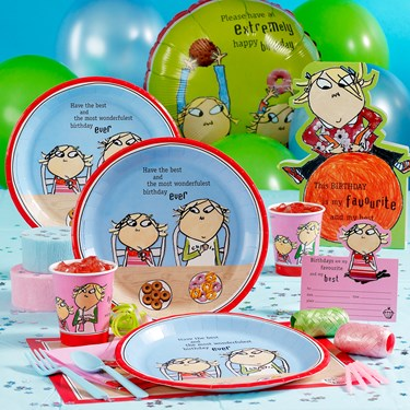 Charlie and Lola Party Supplies