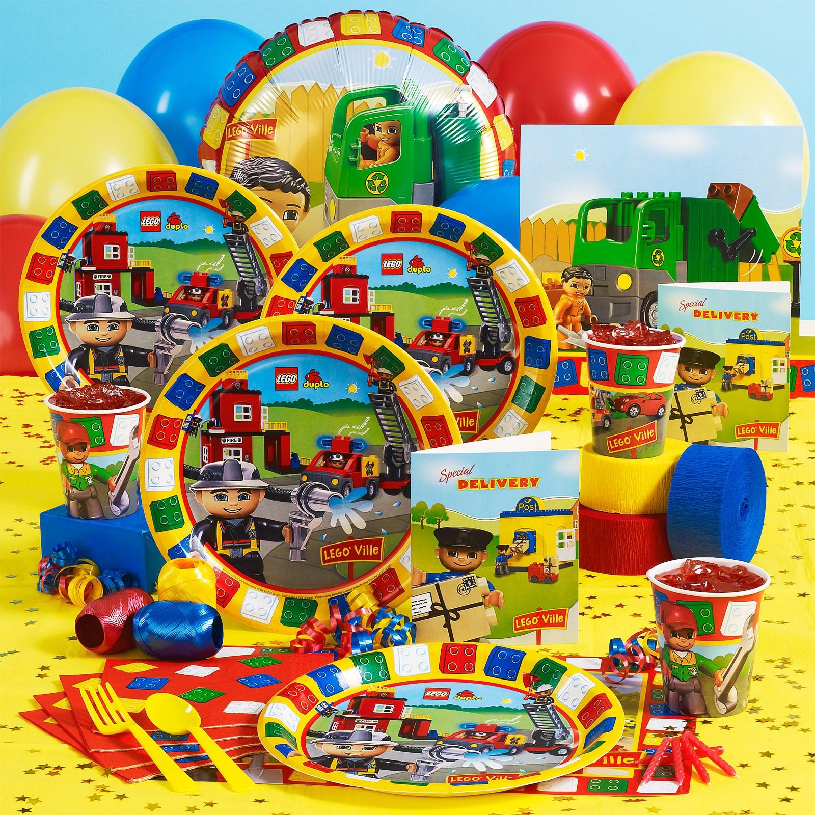 LEGO Ville Party Supplies BirthdayExpresscom