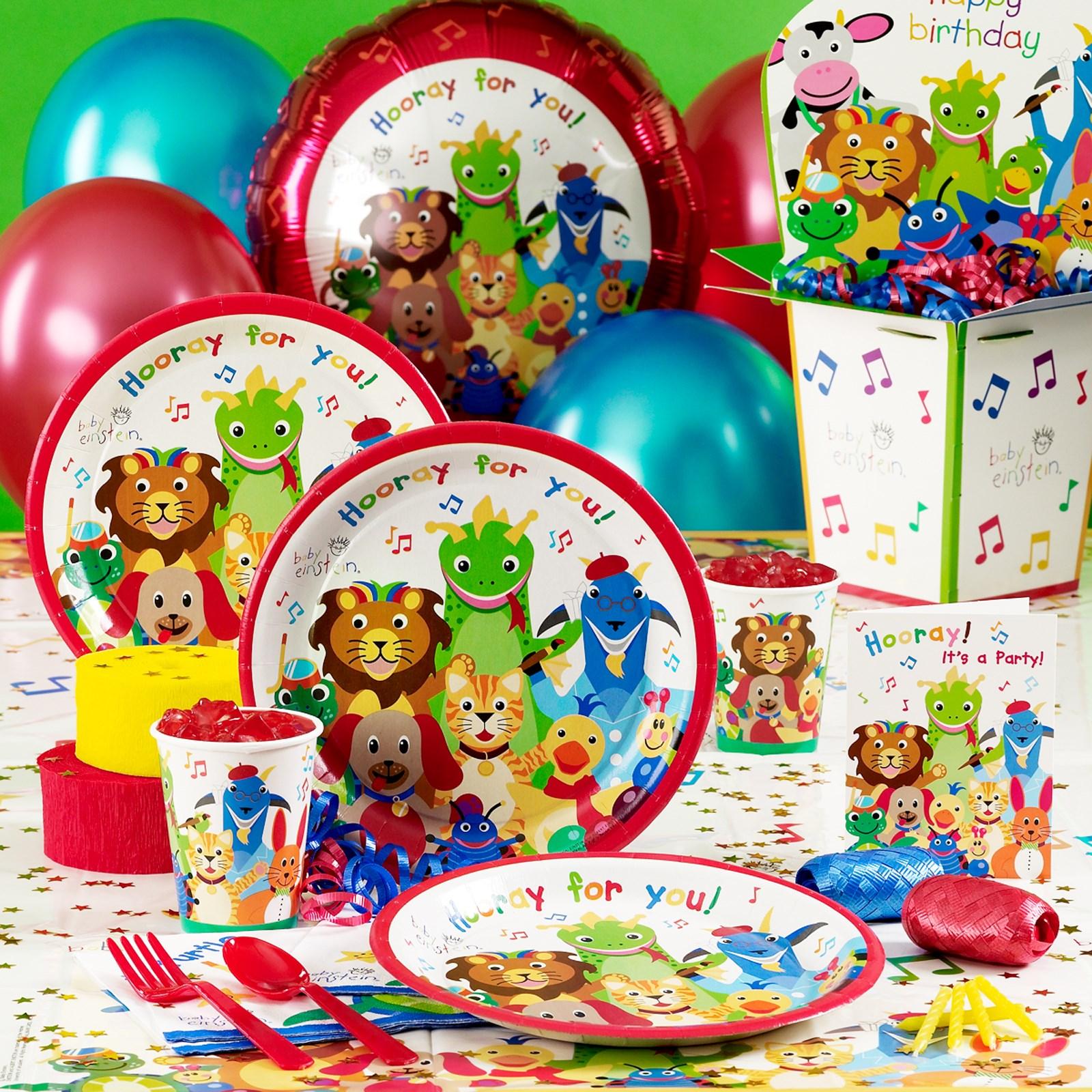 Baby Einstein Party Supplies