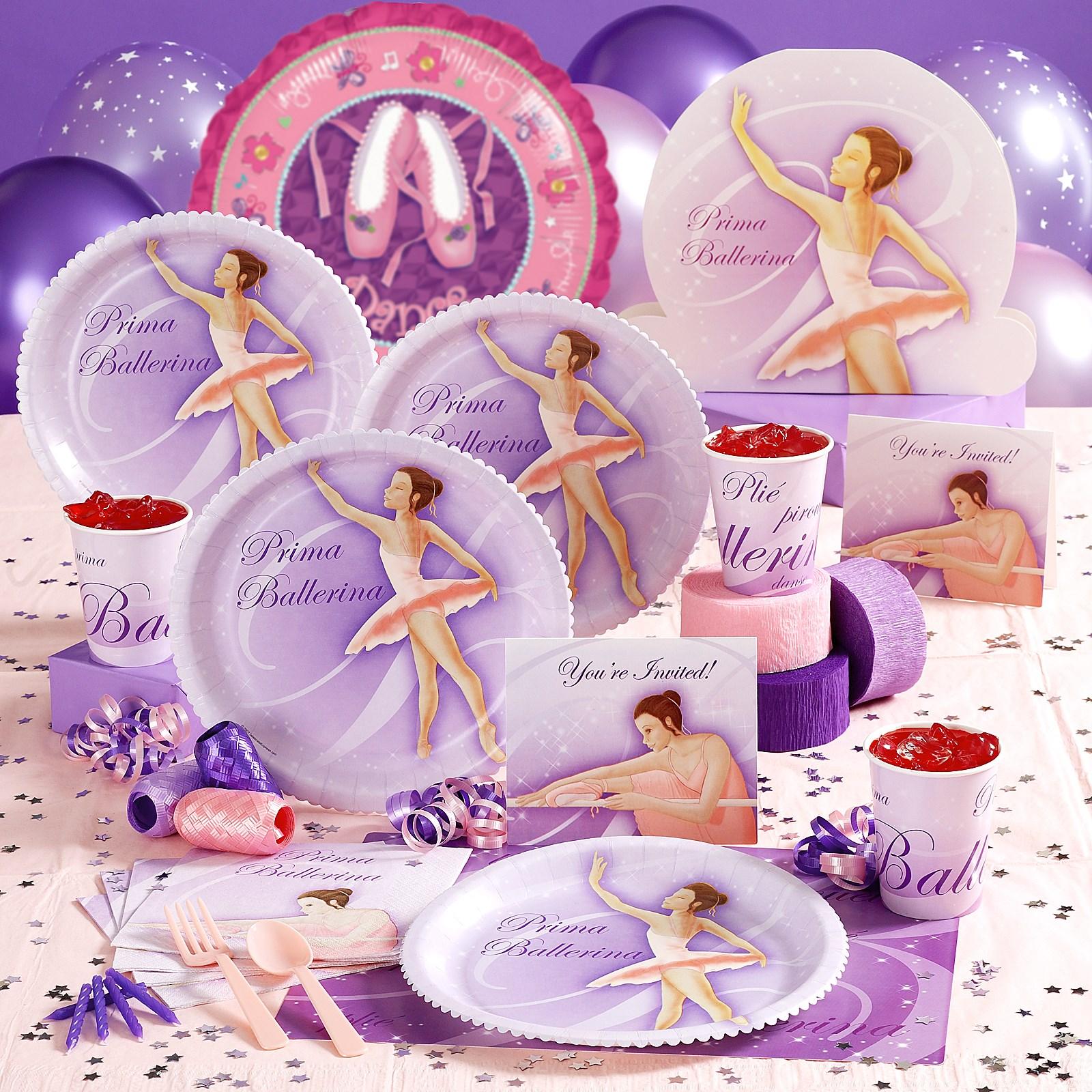 Prima ballerina party supplies for Ballerina party decoration