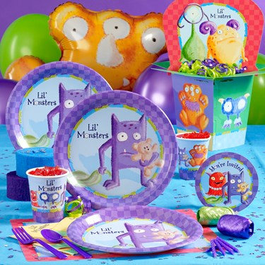 Lil' Monsters Party Supplies