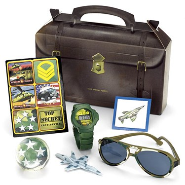 Special Forces Party Favor Box