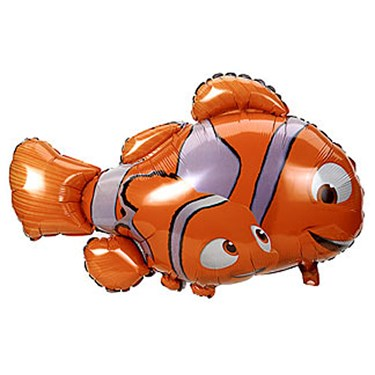 Disney Nemo & Dad 3D Jumbo Foil Balloon