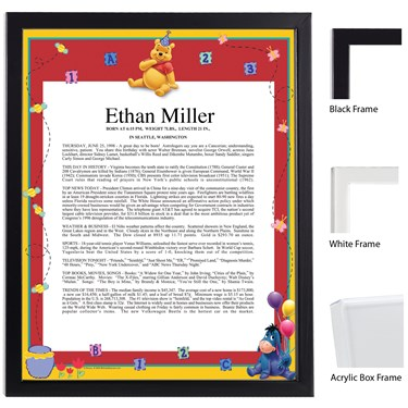 Disney Pooh Scroll