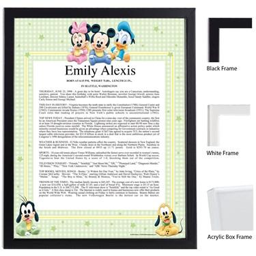 Disney Babies Scroll