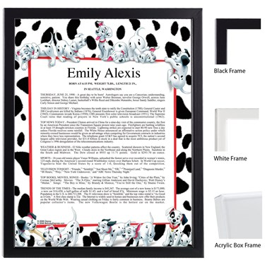 Disney 101 Dalmatians Keepsake Scroll
