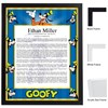 Goofy Keepsake Scroll