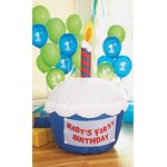 Airblown Inflatable Cupcake -Blue