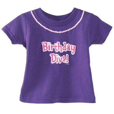 1st Birthday Diva T-Shirt
