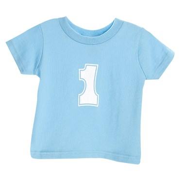 Blue #1 T- Shirt