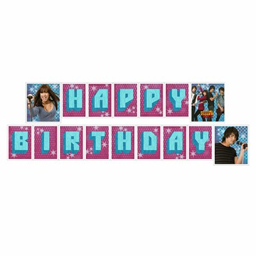 Disney Camp Rock Jointed Banner