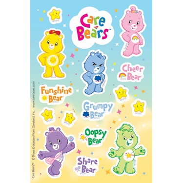 Care Bears Happy Days Sticker Sheets