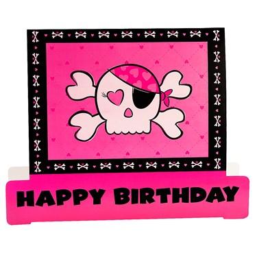 Pink Skull Centerpiece
