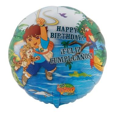 Go, Diego, Go! Foil Balloon