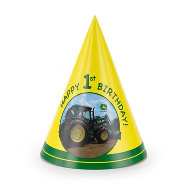 John Deere 1st Birthday Cone Hats
