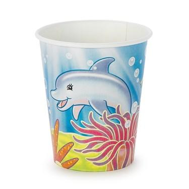 Sea Life 9 oz. Cups