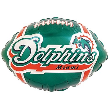 Miami Dolphins Foil Balloon