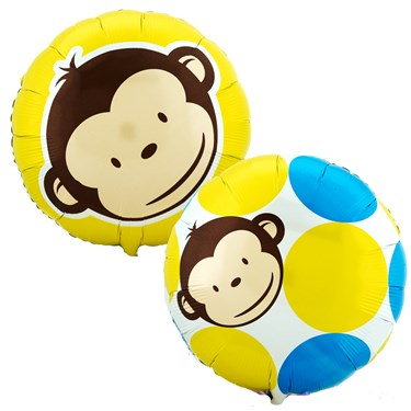 Mod Monkey Foil Balloon