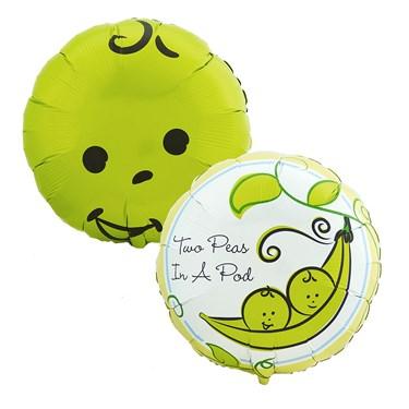 Two Peas in a Pod Foil Balloon