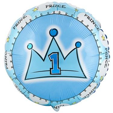 Lil' Prince Foil Balloon