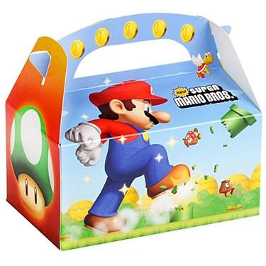 Super Mario Bros. Empty Favor Boxes