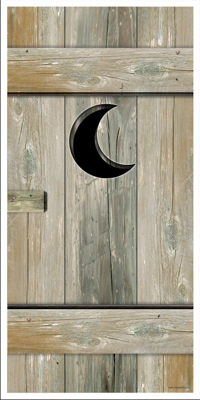 & 5\u0027 Outhouse Door Cover   BirthdayExpress.com Pezcame.Com