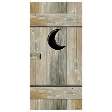 5' Outhouse Door Cover