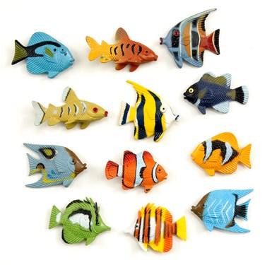 Assorted Plastic Tropical Fish