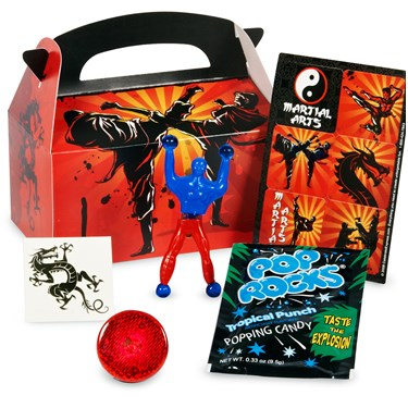 Martial Arts Party Favor Box