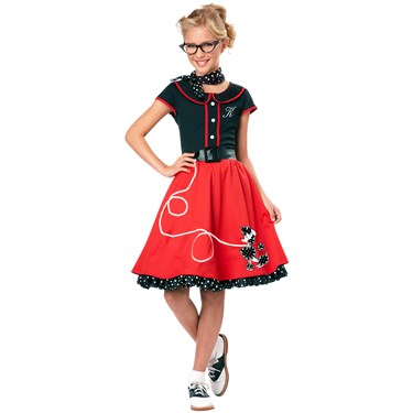 50's Sweetheart Child Costume