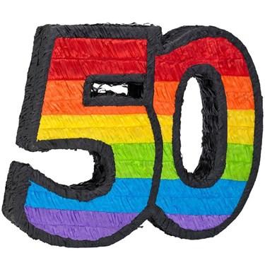 50th Birthday Pinata