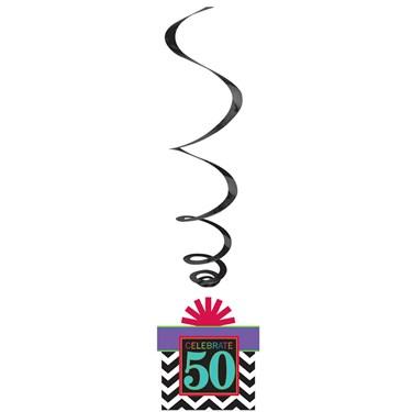 50th Celebration Swirl Decorations (12)