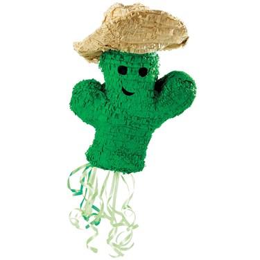 """Cowboy Cactus 19"""" Pull-String Pinata"""